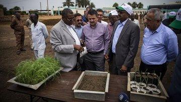 Pakdemirli, Sudan ile tarım alanındaki işbirliğini değerl...