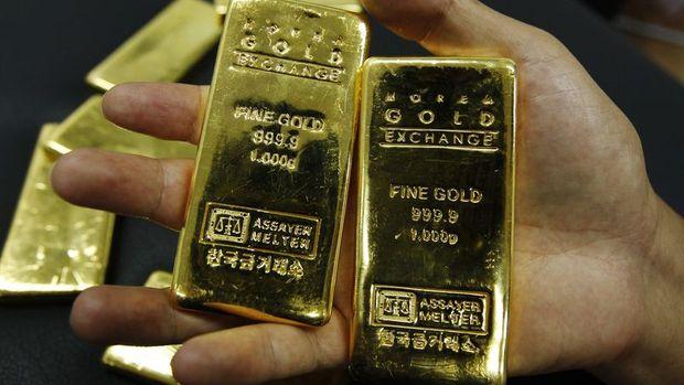 Altın doların düşüşünden destek bulmaya devam ediyor