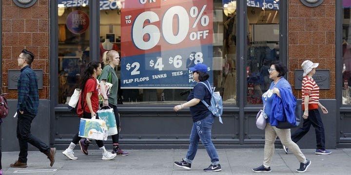 ABD perakende satışlarda 6 ayın en düşük rakamı