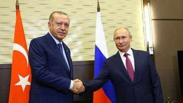 Cumhurbaşkanı Erdoğan ve Putin'den açıklamalar