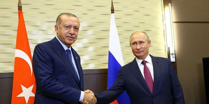 Cumhurbaşkanı Erdoğan ve Putin