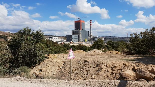 Termik santralde patlama