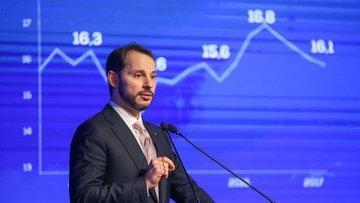 Bakan Albayrak: Ekim'den itibaren enflasyon düşecek