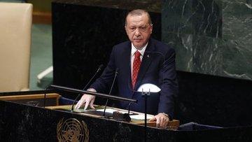 Cumhurbaşkanı Erdoğan, BM Genel Kurulu'nda konuşuyor
