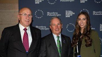 Bloomberg Küresel İş Forumu politika ve iş dünyasını bulu...