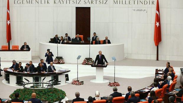 Erdoğan: Bir rahibi bahane eden anlayışla hukuk içinde mücadele edeceğiz