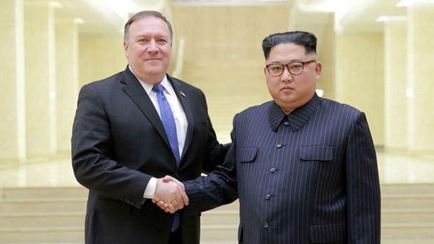 Pompeo pazar günü Kuzey Kore lideriyle görüşecek