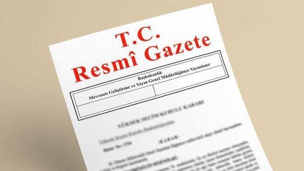 Büyükelçilere ilişkin karar Resmi Gazete'de yer aldı