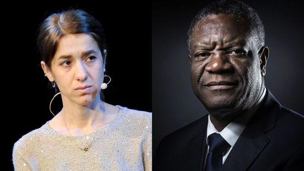 Nobel Barış Ödülü Denis Mekwege ve Nadia Murad'ın oldu