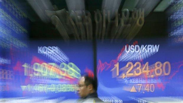 Gelişen piyasa paraları won ve Tayvan doları öncülüğünde düştü