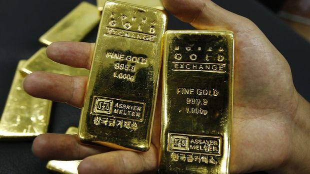Altın hisselerdeki düşüş sonrası sert yükseldi