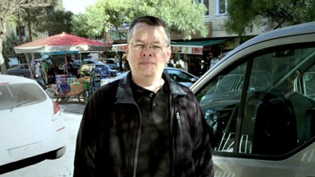 ABD'li rahip Brunson serbest bırakıldı