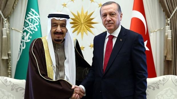 Suudi Kralı Selman Cumhurbaşkanı Erdoğan'ı aradı