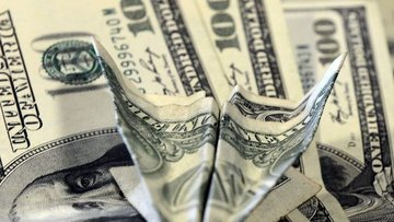 Dolar/TL'de günlük düşüş %1'i aştı