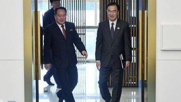Kuzey Kore ve Güney Kore arasındaki yollar birleşiyor