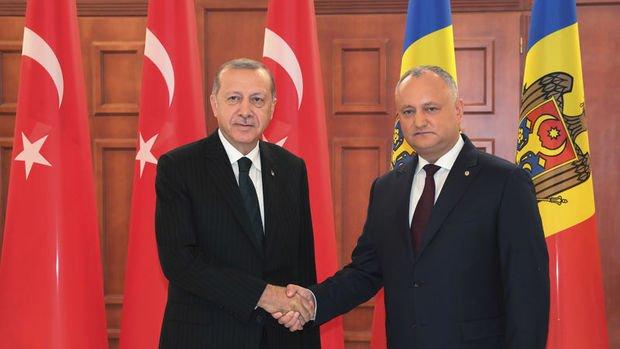 Erdoğan: (Ziraat Bankası ve Halkbank) Bu bankalardan biri veya ikisi Moldova'da şubelerini açacaklar