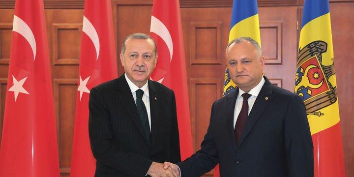 Erdoğan: (Ziraat Bankası ve Halkbank) Bu bankalardan biri veya ikisi Moldova