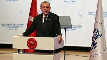 Erdoğan: (Dövizdeki dalgalanma) Sağlam durduk, hüsrana uğ...