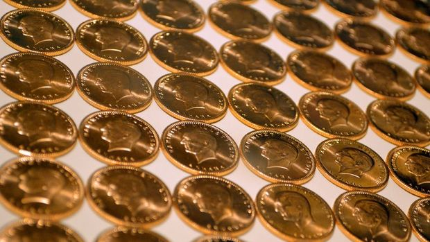 Altının gramı 222 lira seviyelerinde