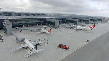 İstanbul Yeni Havalimanı THY'nin uçuş noktaları arasına e...