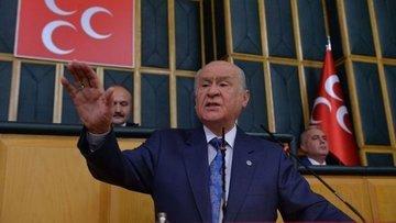 """MHP lideri Bahçeli'den """"Af"""" tepkisi"""