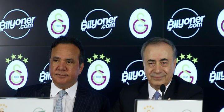 Galatasaray ile Bilyoner.com arasında sponsorluk anlaşması imzalandı