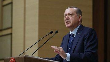 Cumhurbaşkanı Erdoğan grup toplantısında konuşuyor