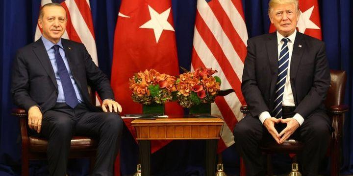 Erdoğan ile Trump 11 Kasım
