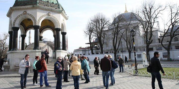 Yabancı turist sayısı Eylül