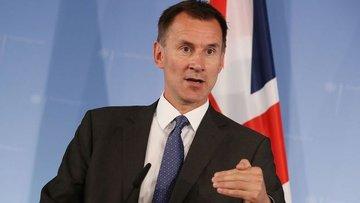 İngiltere Dışişleri Bakanı Jeremy Hunt, Suudi Arabistan'a...