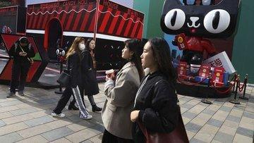 """Çin'in """"Bekarlar Günü"""" hasılatı 30,8 milyar dolar"""