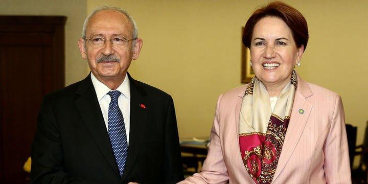 Kılıçdaroğlu ile Meral Akşener yarın ittifakı görüşecek