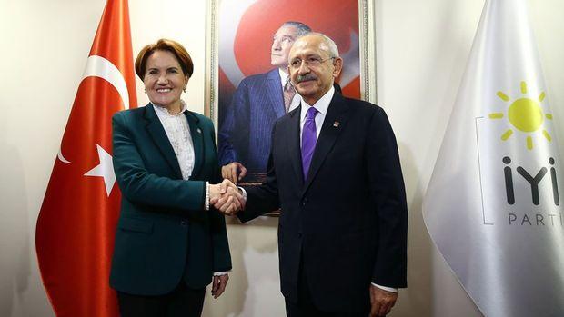 Kılıçdaroğlu ile Akşener bir araya geldi