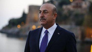 Çavuşoğlu: Kıbrıs'ın denizdeki çıkarlarını korumak için g...