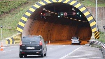 Bolu Tüneli'nin Ankara yönü 20 gün trafiğe kapatılıyor