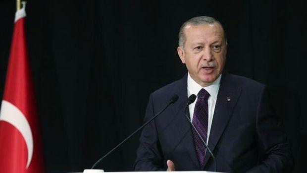 Erdoğan: Türkiye'nin en büyük fuar alanını Atatürk Havalimanı'na yapacağız