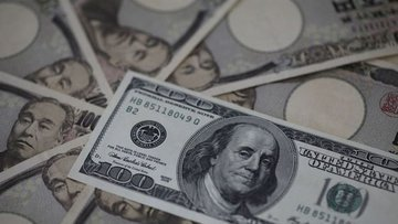 """Yen """"Pence"""" sonrasında dolar karşısında 2 haftanın zirves..."""