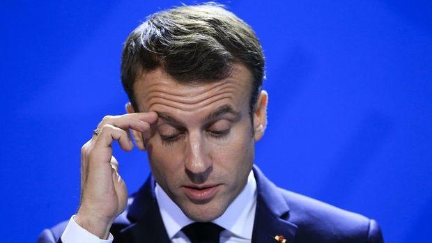 Macron'a '144 bin Euro'luk' bağış soruşturması açıldı