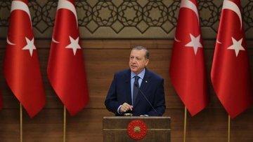 Erdoğan: Döviz kurunda ve faizde aşağı gidiş var