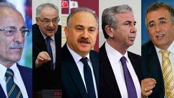 CHP'nin Ankara için 5 adayı
