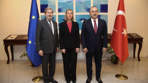 AB/Mogherini: AB, Türkiye ile güçlü bir işbirliği istiyor