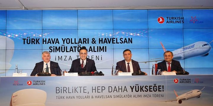 THY ile HAVELSAN arasında yerli simülatör anlaşması imzalandı