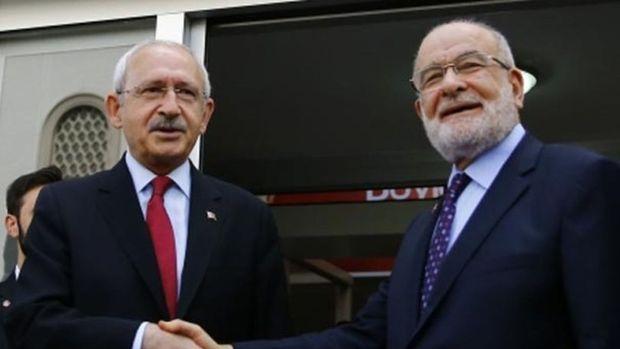 CHP ve Saadet Partisi pazartesi günü görüşecek