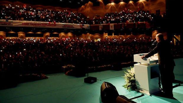 Erdoğan, Ak Parti'nin 31 Mart yerel seçim adaylarını açıkladı