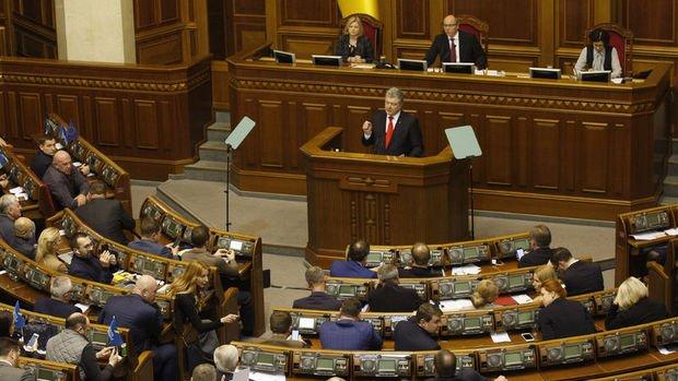 Ukrayna'da sıkıyönetim ilan edildi