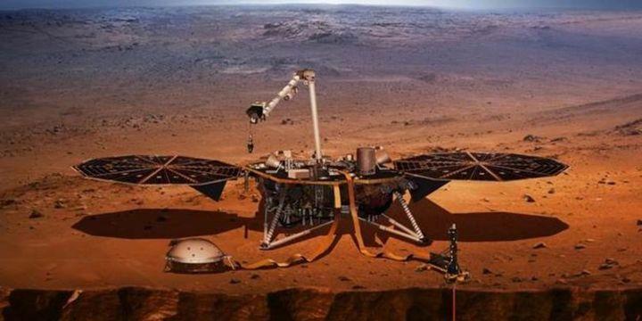 NASA uzay aracı Mars