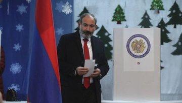 Ermenistan'da Paşinyan ittifakı kazandı