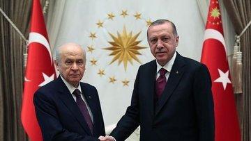 Erdoğan-Bahçeli görüşmesi yarın gerçekleşecek