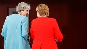 Theresa May, Merkel'den destek isteyecek
