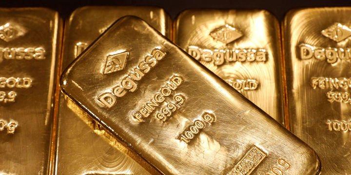 Altın yavaşlama endişeleri ve Fed beklentileri ile yükseldi